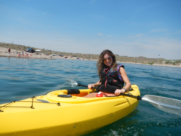 First trip out in the kayak!
