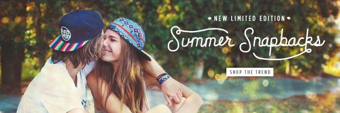 Pura Vida Summer Snapbacks